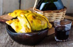 Empanada s masem, nejčastěji s jehněčím