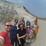 Geologie na ostrově Hormoz - Expedice Írán 2016