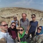 V geo-parku na ostrově Kešm 2 - Expedice Írán 2016