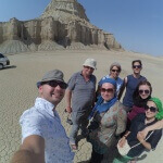 V geo-parku na ostrově Kešm - Expedice Írán 2016