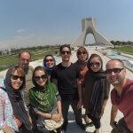 věž Azadi - symbol Teheránu - Expedice Írán 2016
