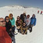 Na vrcholu hory Tochal - Teherán- Expedice Írán 2016