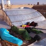 Spíme na střeše hotelu - Jazd - Expedice Írán 2016