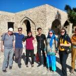 S íránským kamarádem na vyhlídce u Šírázu - Expedice Írán 2016
