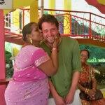 Vřelé přijetí v hinduistickém templu na Fidži