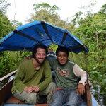 V Amazonii na řece Javarí s kamarádem Miguelem