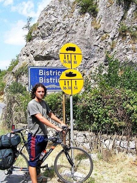 Cyklotrempem v Kosovu