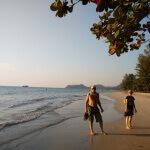 Pláž na Koh Chang 2 - Expedice Thajsko 2016