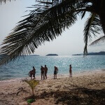 Pláž na Koh Chang - Expedice Thajsko 2016