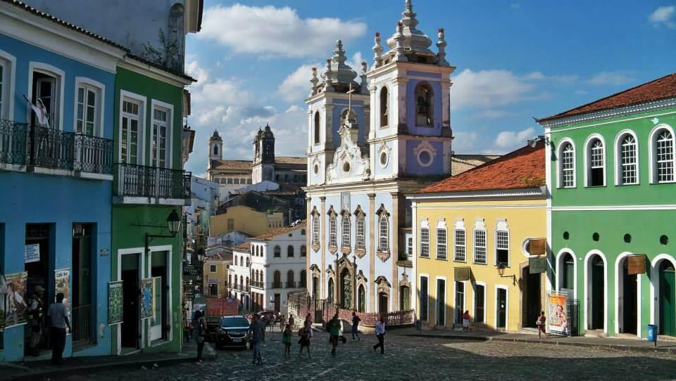 Pelorinho - historické centrum Salvadoru
