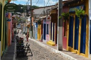 Barevné vesničky brazilského vnitrozemí