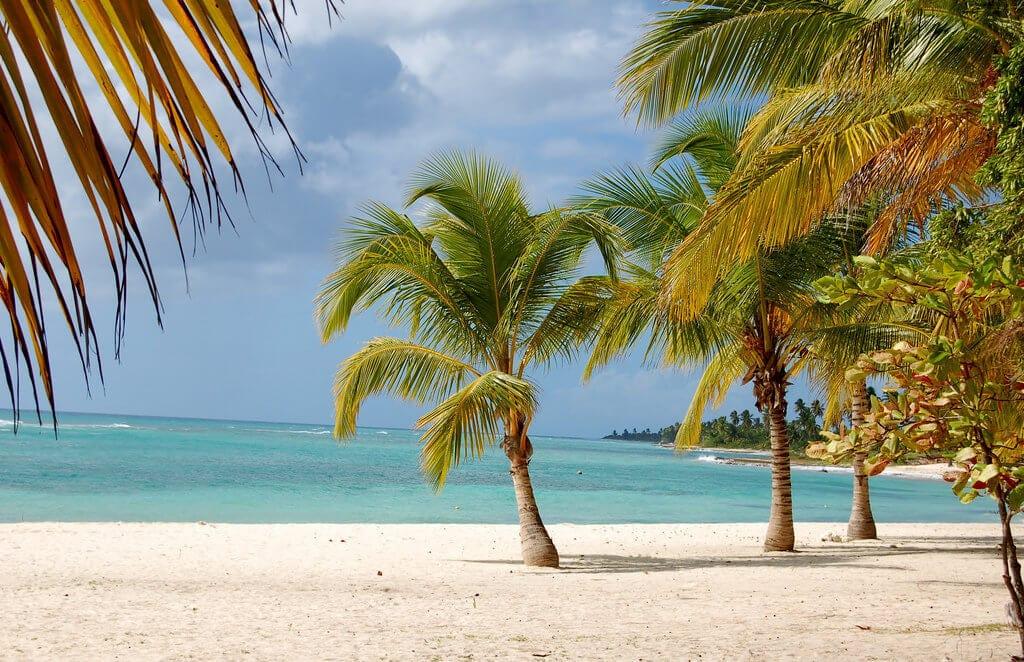 Panenská pláž na ostrově Saona (foto Saona Island V od Ian Bruce - CC BY-ND 2.0)