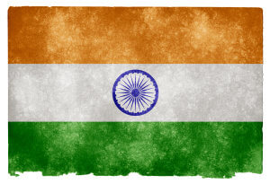 India Grunge Flag od Nicolas Raymond / CC BY 3.0