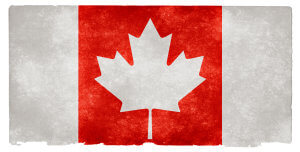 Canada Grunge Flag od Nicolas Raymond / CC BY 3.0