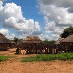 Typické venkovské obydlí