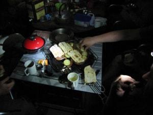 Večeře při čelovkách