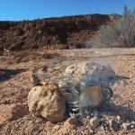 Příležitost ogrilovat si maso ve volné přírodě se vždy najde - marocká brochetta