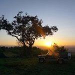 Kempování v Africe