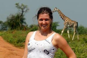 Klára v Ugandě