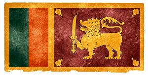 Sri Lanka Grunge Flag od Nicolas Raymond / CC BY 3.0