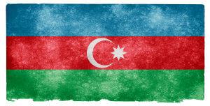 Azerbaijan Grunge Flag od Nicolas Raymond / CC BY 3.0