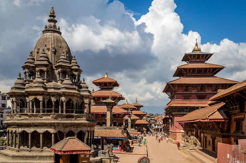Náměstí Durbar v Káthmándú je zařazeno do památek UNESCO