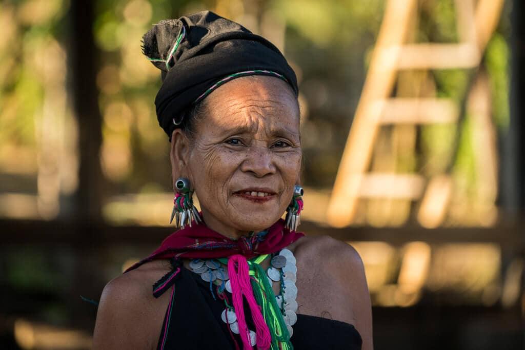 Žena ze kmene Kayah