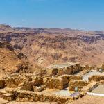 Pevnost Masada v Judské poušti