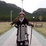 Lov s orly je stovky let stará tradice. NP Borovoe, Kazachstán