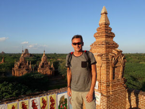 Starobylý Bagan v Barmě patří mezi Lubošovo nejoblíbenější místo