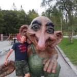 Trollí kamarád. Molde, Norsko