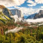Podzimní nálada v NP Yosemite