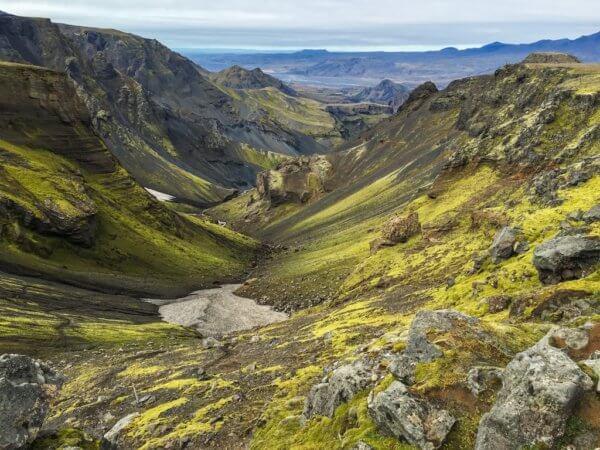 Údolí v Thórsmörku