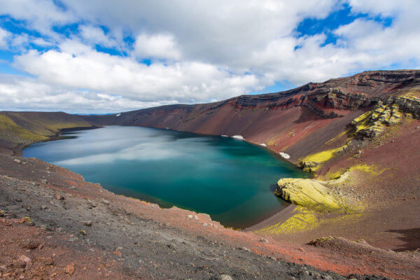 Jezero Ljótipollur u Landmannalaugaru