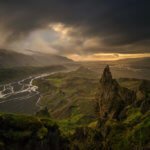 Valahnukur v Thórsmörku