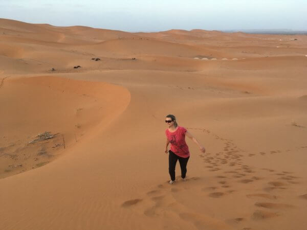 Poušť Merzouga, Maroko