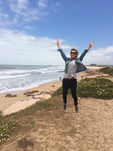 Na pláži v El Jadida, Maroko