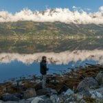 Člověk chytá v norských fjordech hodiny a nechytí nic!
