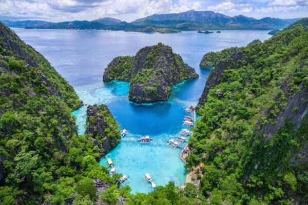 Ostrov Palawan je jednou z nejkrásnějších částí Filipín