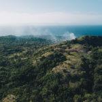 Typická krajina Visajských ostrovů – pastviny, lesy, políčka