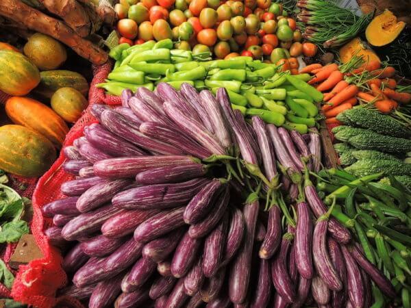 Místní zelenina