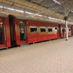 Svezeme se i tradičním vlakem