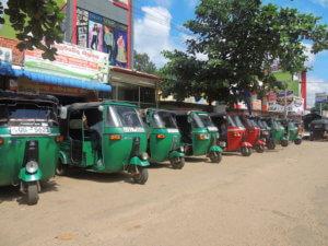 Tradiční dopravní prostředek - tuk-tuk