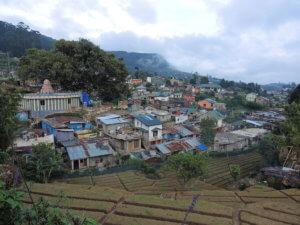 Tradiční horská vesnička