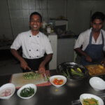 Ukázka přípravy tradičního pokrmu rice and curry