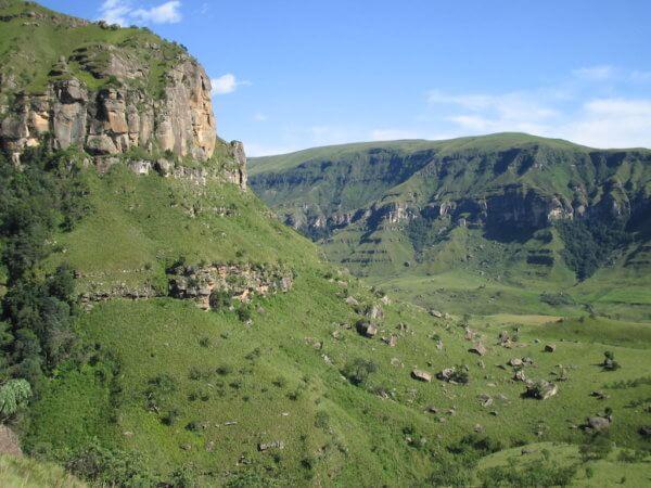 Tajemné stolové hory, Drakensberg