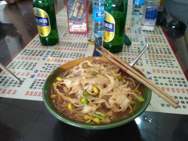 Jedna z vydatných polévek, kterých je v Číně nespočet