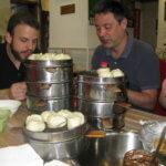 Knedlíčků bude dost - klasická čínská snídaně (foto: Katka Randyšová)