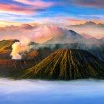 Nezapomenutelný východ slunce u Mt. Bromo