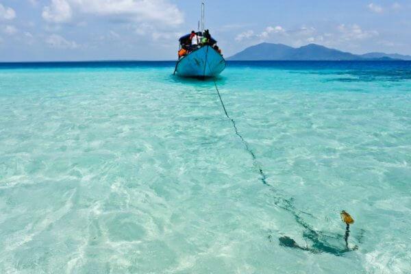 Tropický ráj na ostrovech Karimunjava